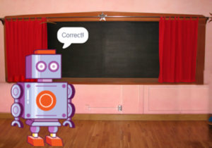 Coding with scratch: the maths quiz